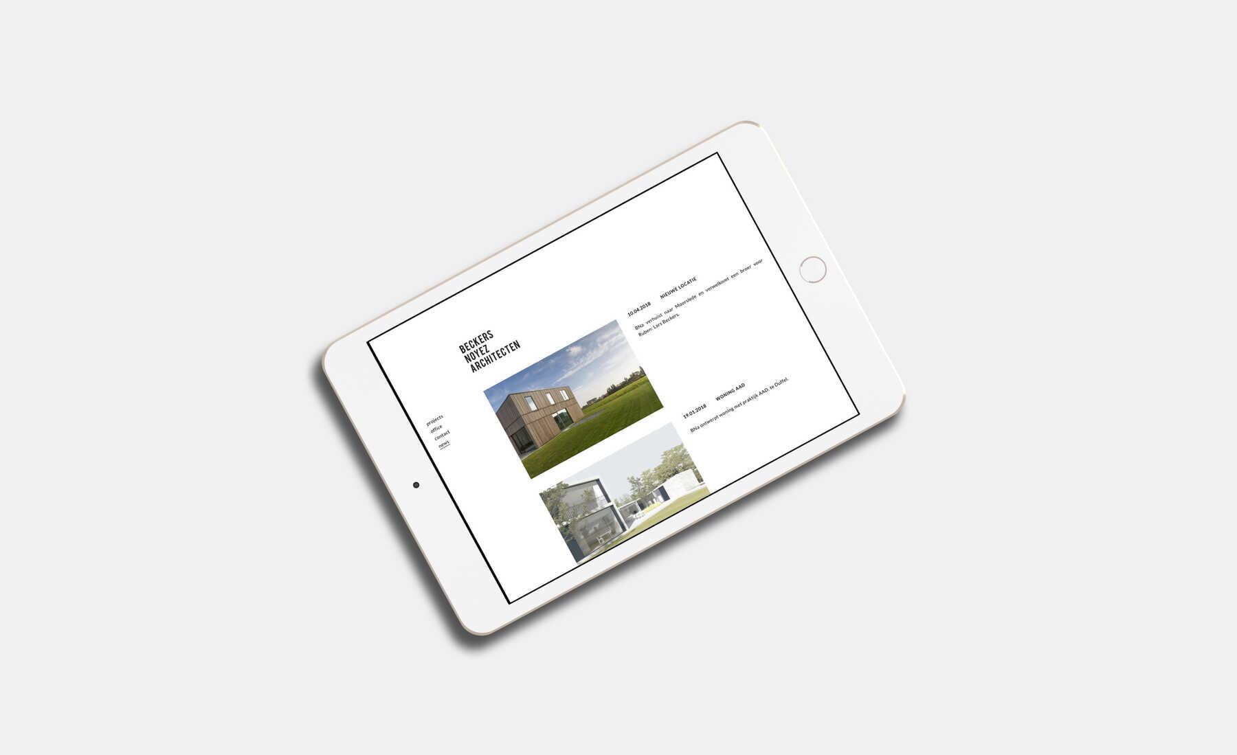 Beckers Noyez Architecten news