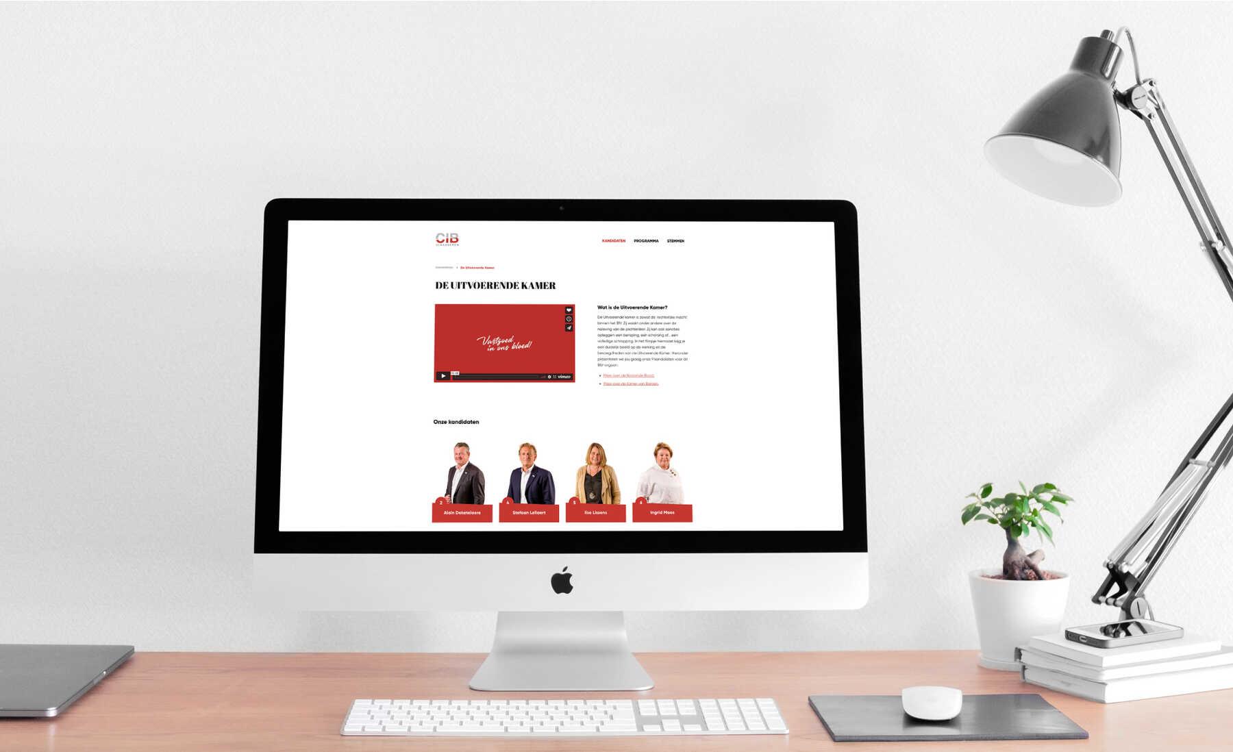CIB Vlaanderen campagnewebsite