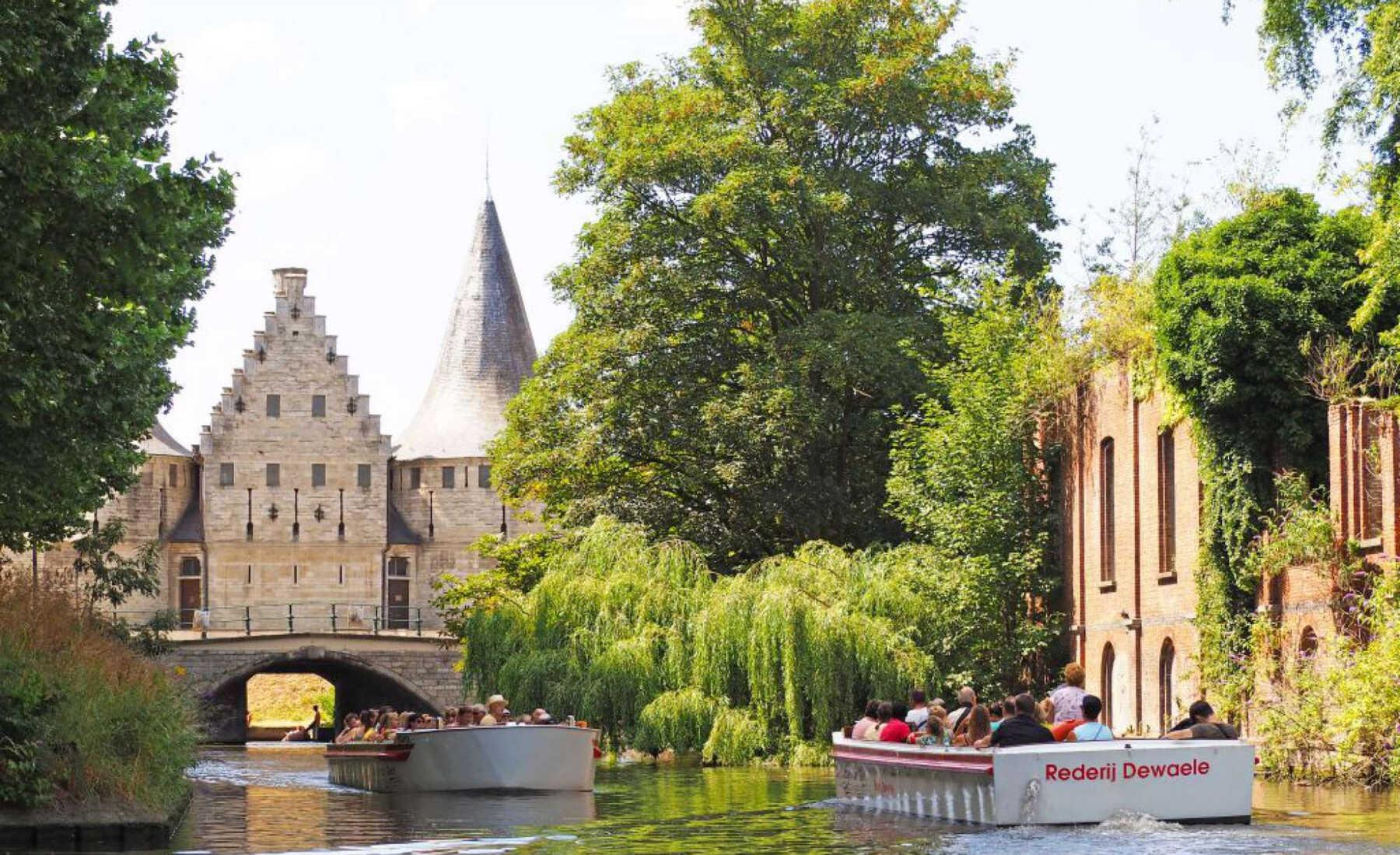 de bootjes van Gent groepsrondvaarten