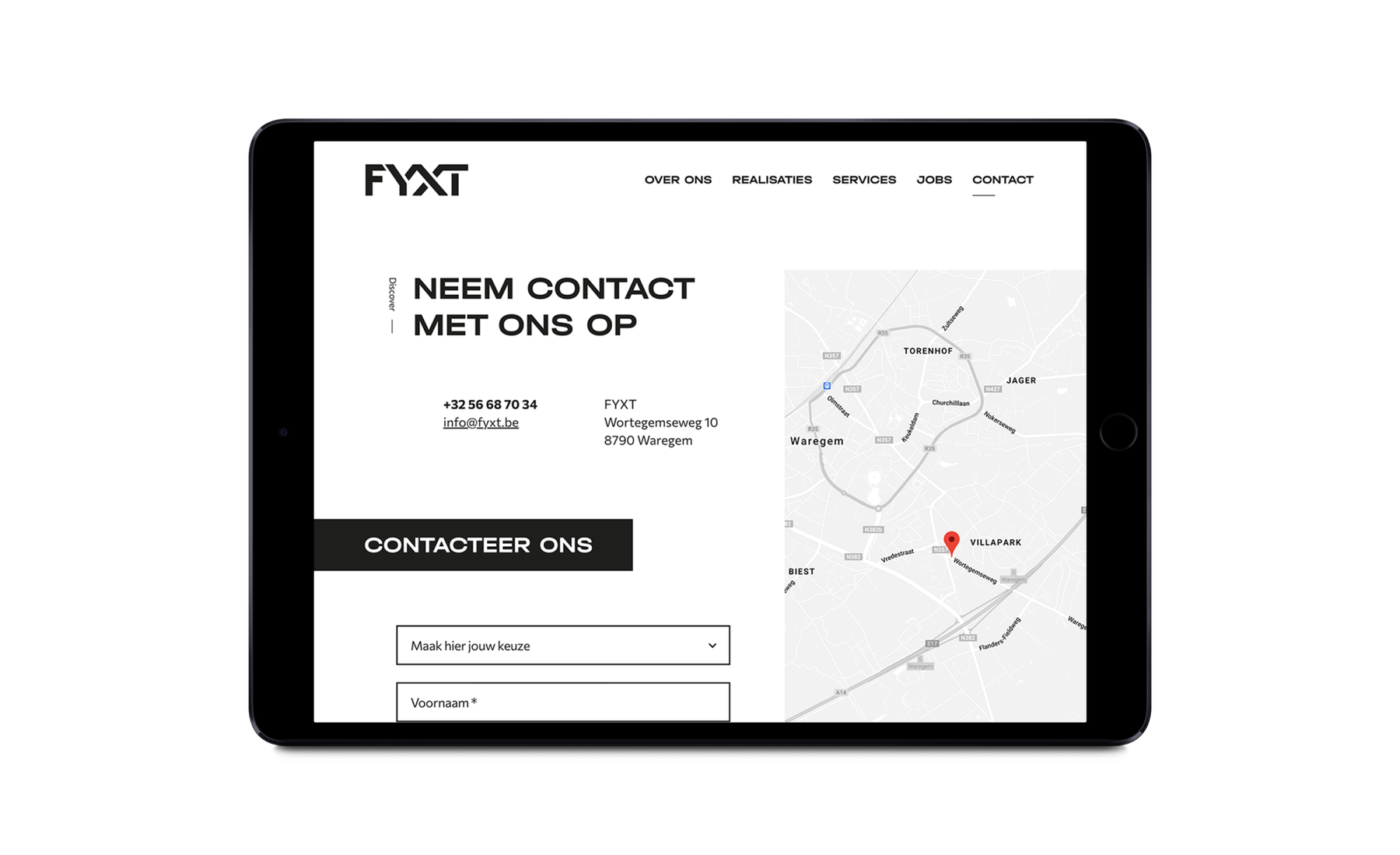 contact FYXT