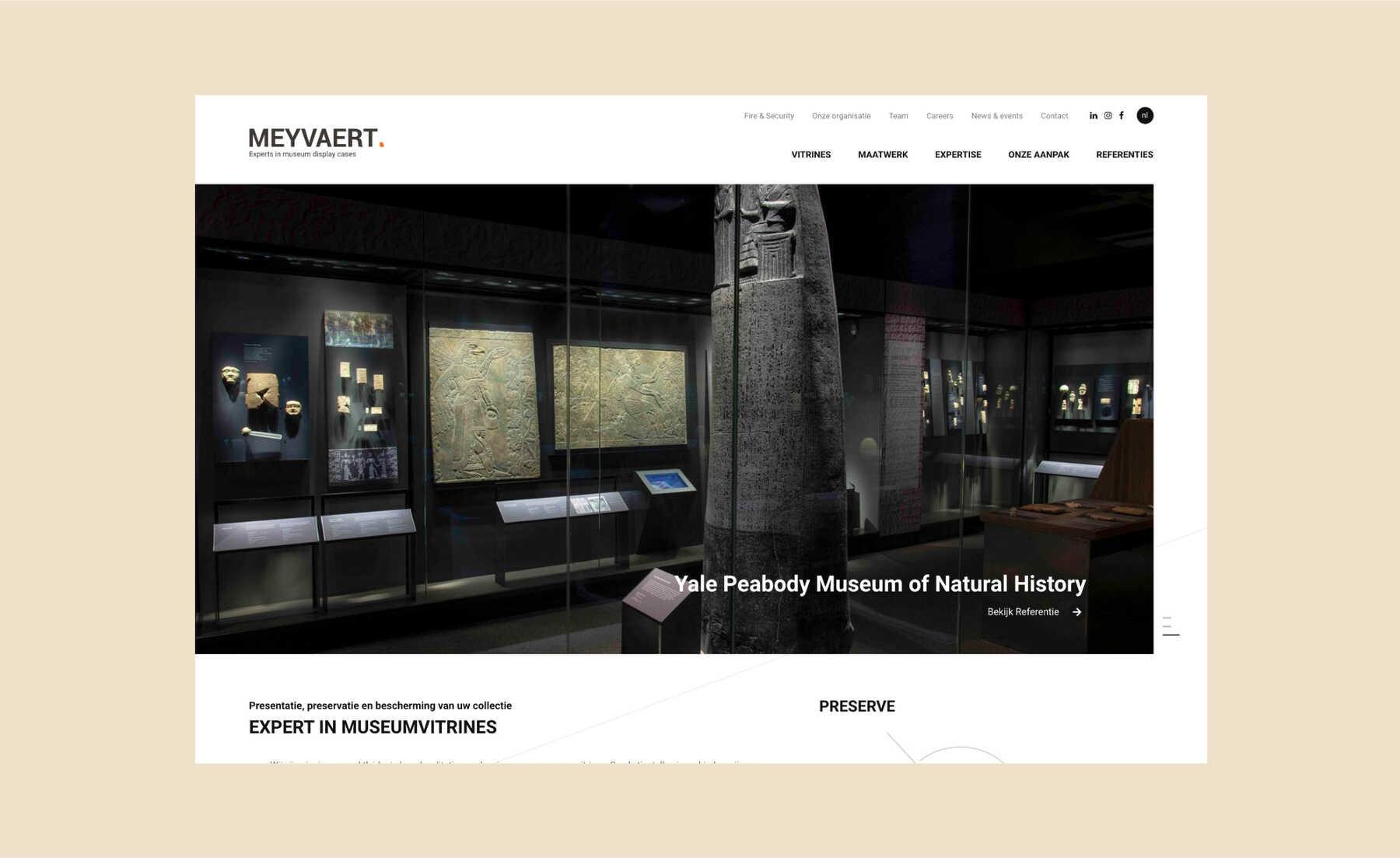 meyvaert yale peabody museum of natural history