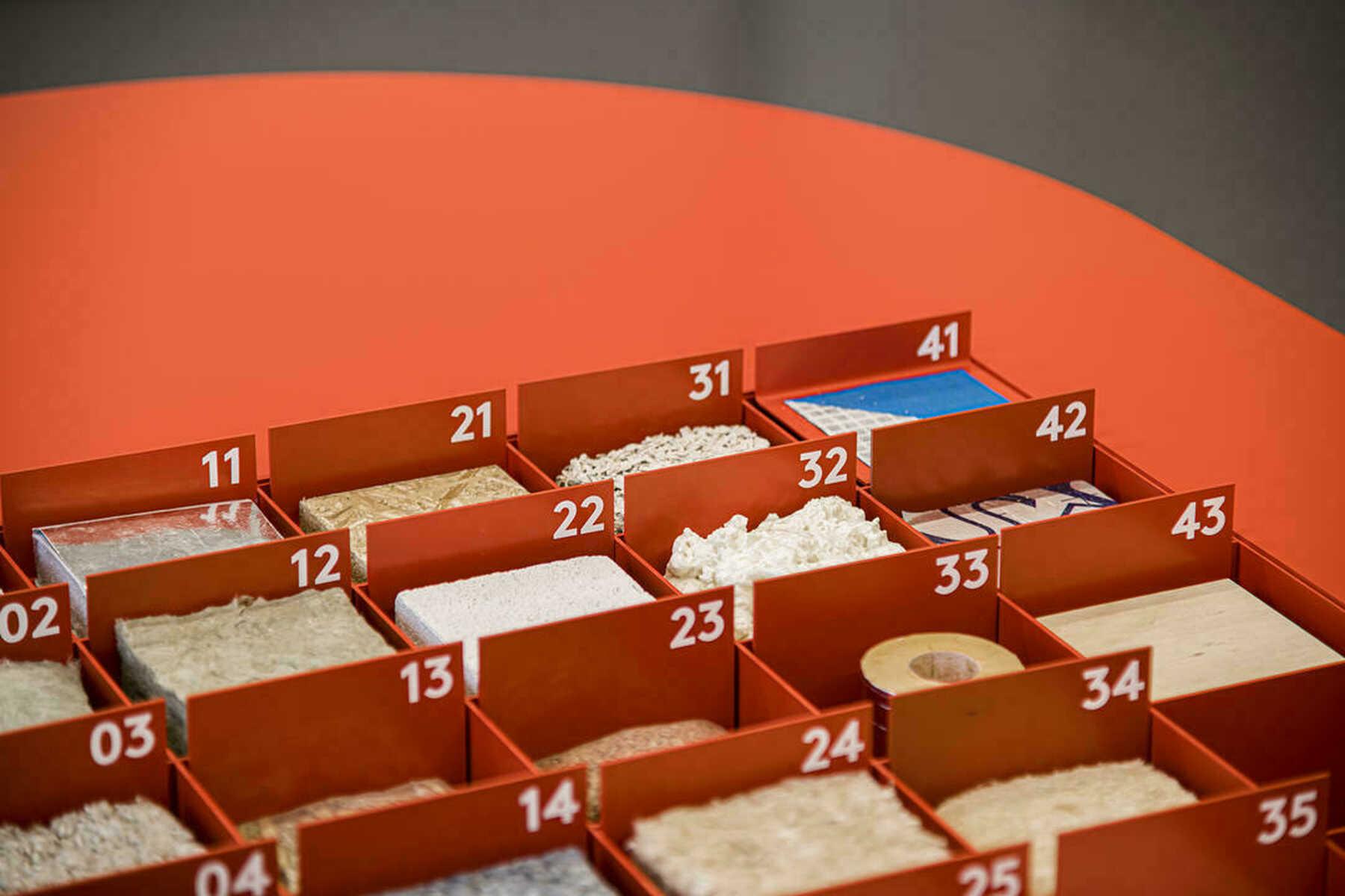 materialen tentoonstelling acasus