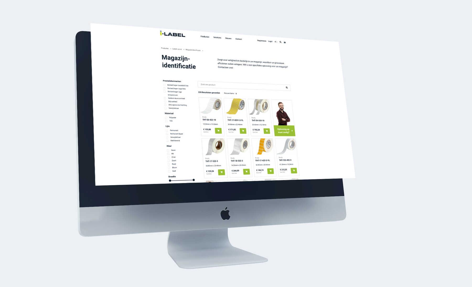 I-label webshop