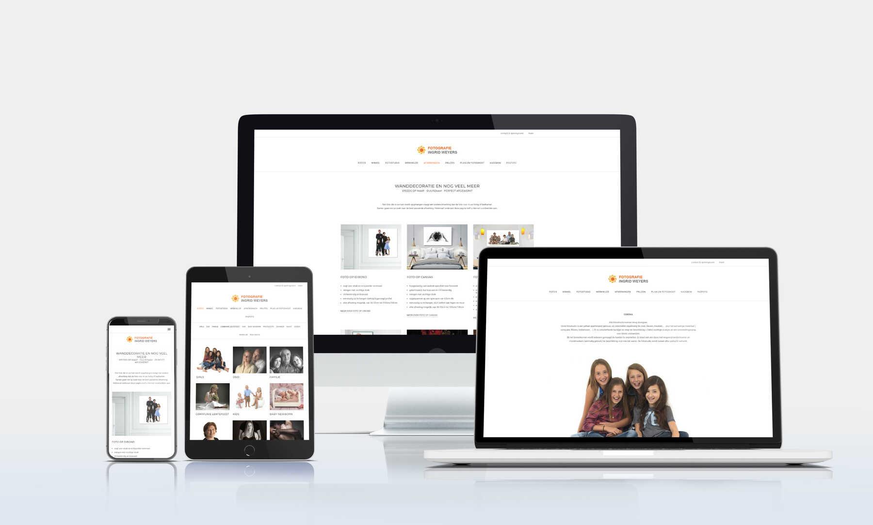 Webdesign fotograaf