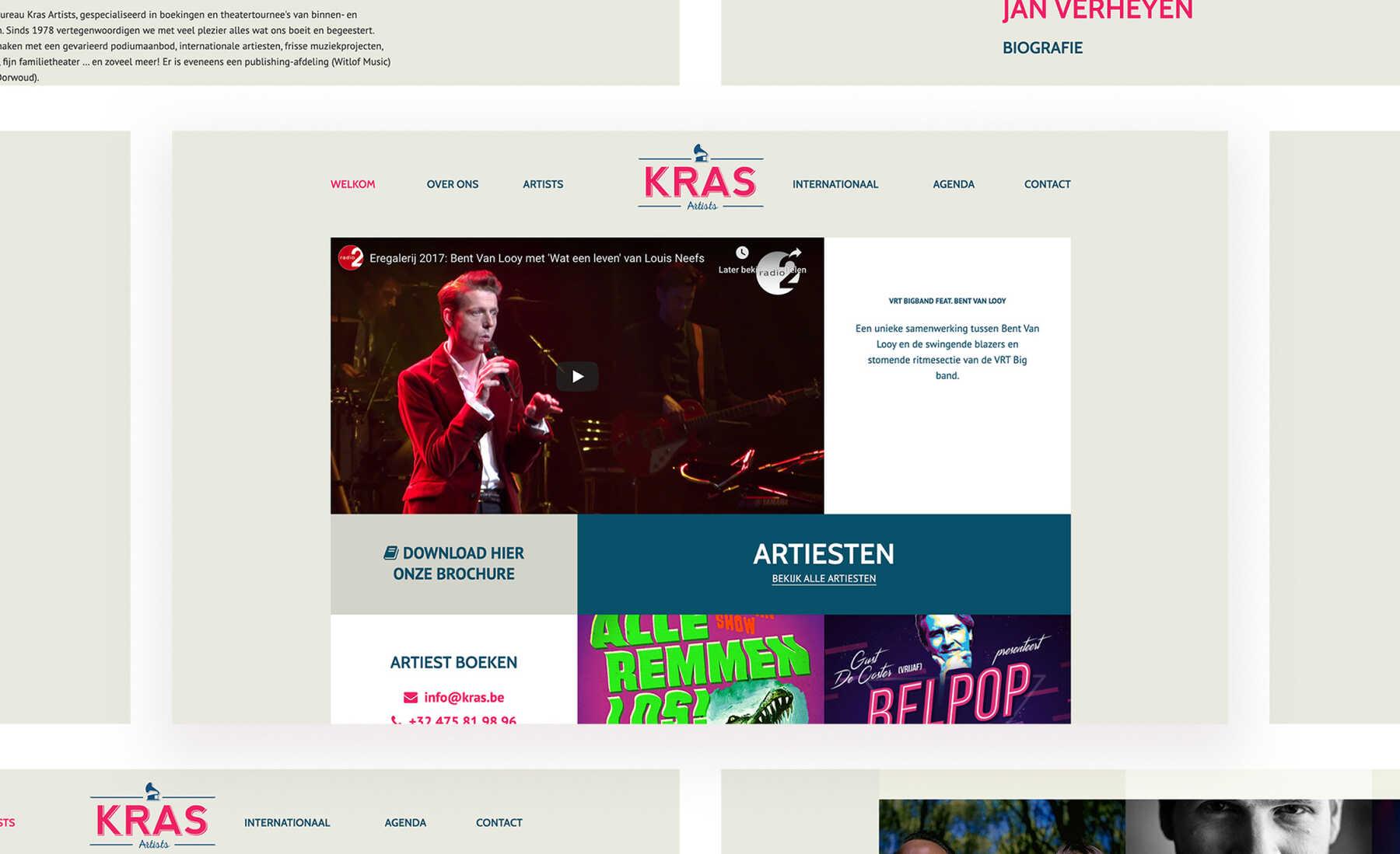 Kras Artists artiesten