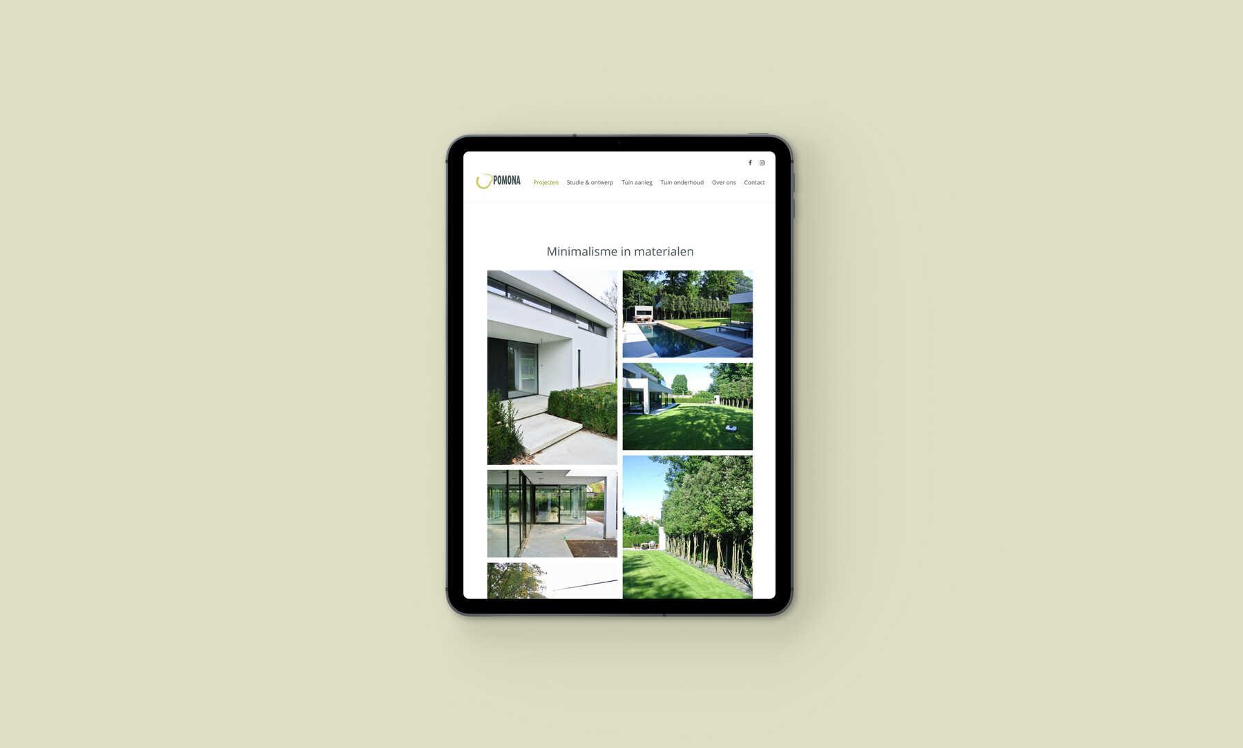 Pomona minimalistische tuin