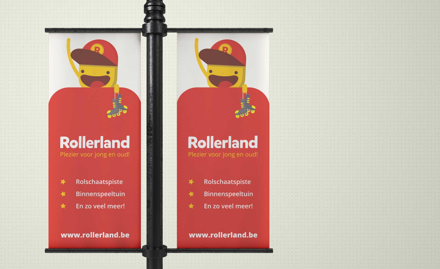 rollerland vlaggen